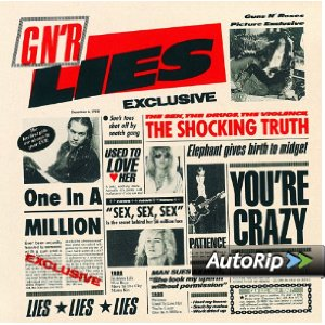 G N' R Lies Album Cover