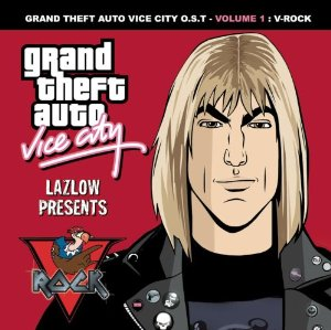 Grand Theft Auto: Vice City, Volume 1: V-Rock Album Cover