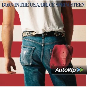 Born in the U.S.A. Album Cover