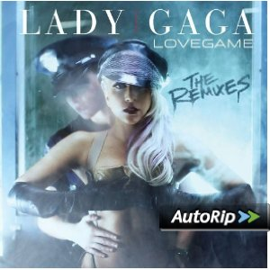 LoveGame: The Remixes Album Cover