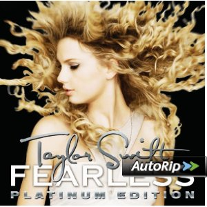 Fearless: Platinum Edition Album Cover