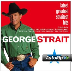 Latest Greatest Straitest Hits Album Cover