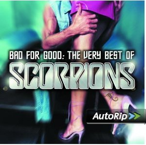 Bad for Good: The Very Best of Scorpions Album Cover
