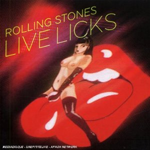 Live Licks Album Cover