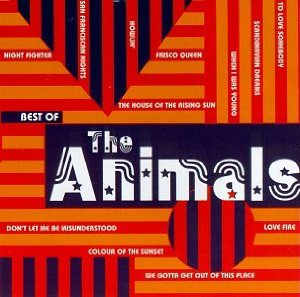 Best of the Animals Album Cover