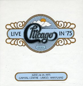 Live in '75 Album Cover