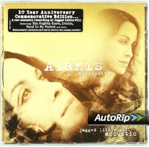 Jagged Little Pill Acoustic Album Cover