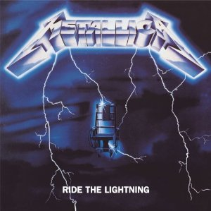 Ride the Lightning Album Cover