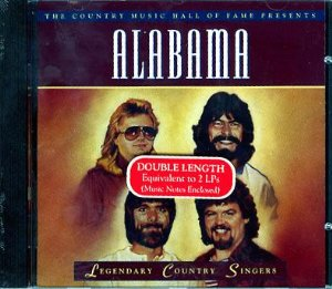 Legendary Country Singers: Alabama Album Cover