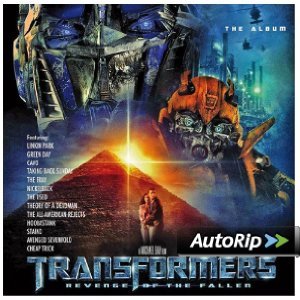 Transformers: Revenge of the Fallen: The Album Album Cover