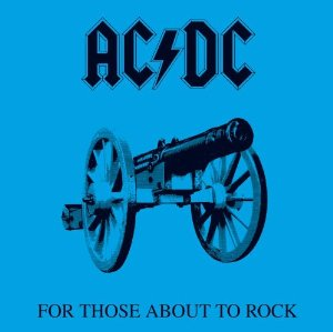 For Those About to Rock (We Salute You) Album Cover