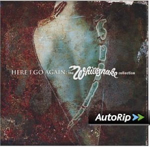 Here I Go Again: The Whitesnake Collection Album Cover