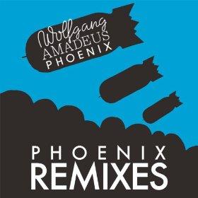 Wolfgang Amadeus Phoenix: Phoenix Remixes Album Cover
