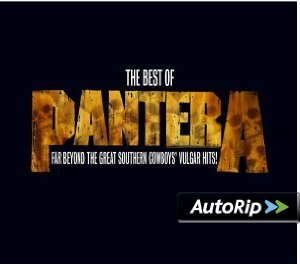 The Best of Pantera: Far Beyond the Great Southern Cowboys' Vulgar Hits! Album Cover