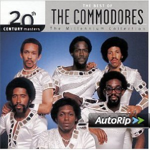 20th Century Masters: The Millennium Collection: The Best of The Commodores Album Cover