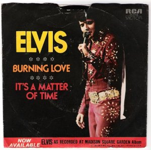 Burning Love / It's a Matter of Time Album Cover