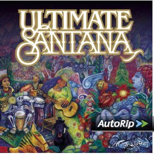 Ultimate Santana Album Cover