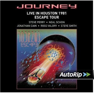 Live in Houston 1981: The Escape Tour Album Cover