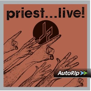 Priest... Live! Album Cover