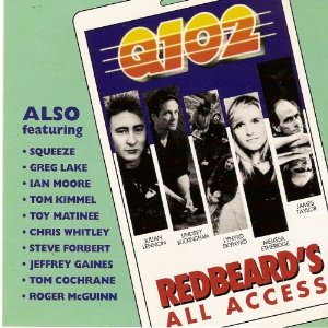 Q102: Redbeard's All Access Album Cover
