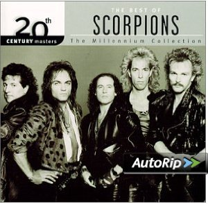 20th Century Masters: The Millennium Collection: The Best of Scorpions Album Cover