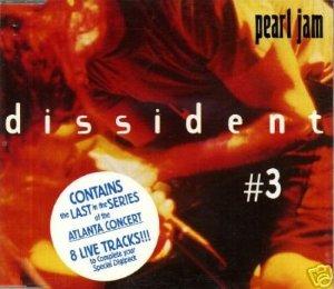 Dissident #3 Album Cover