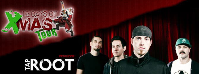 12 Days of Christmas Tour featuring Taproot!