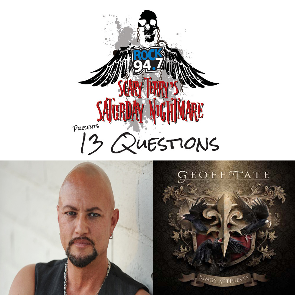 13 QUESTIONS WITH GEOFF TATE