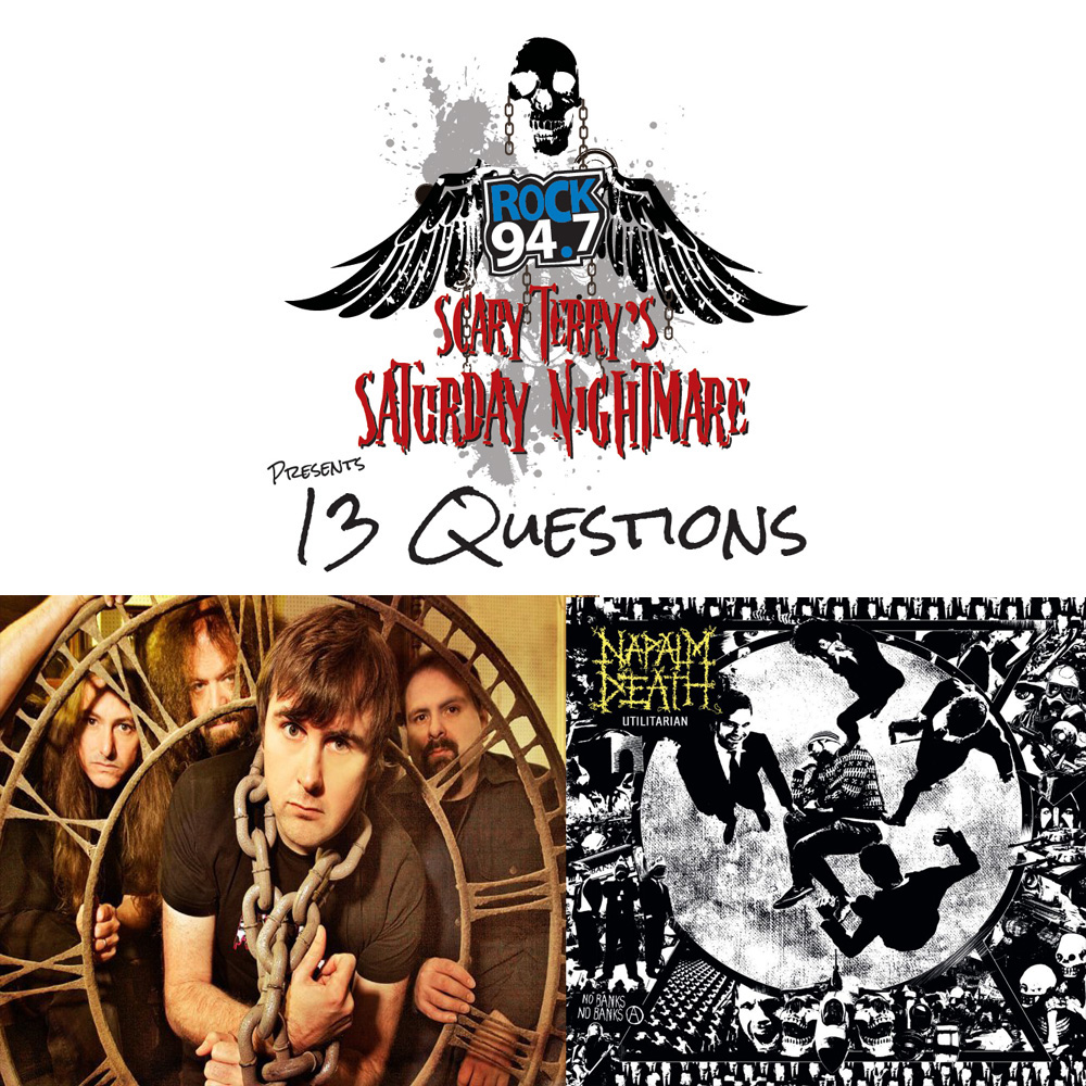 13 QUESTIONS WITH NAPALM DEATH