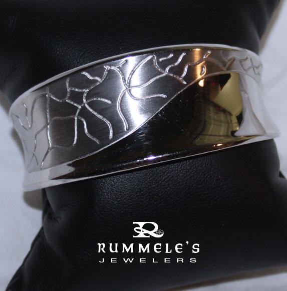 A stunning bracelet from Rummele's Jewelers