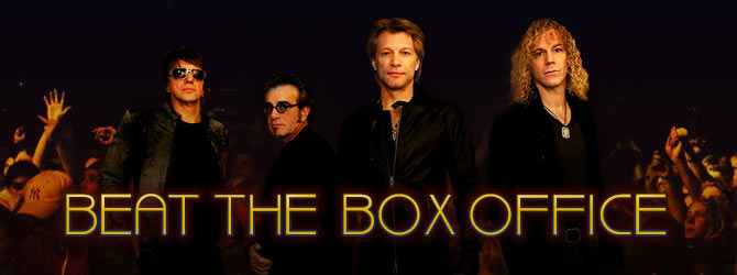 Beat The Box Office for Bon Jovi