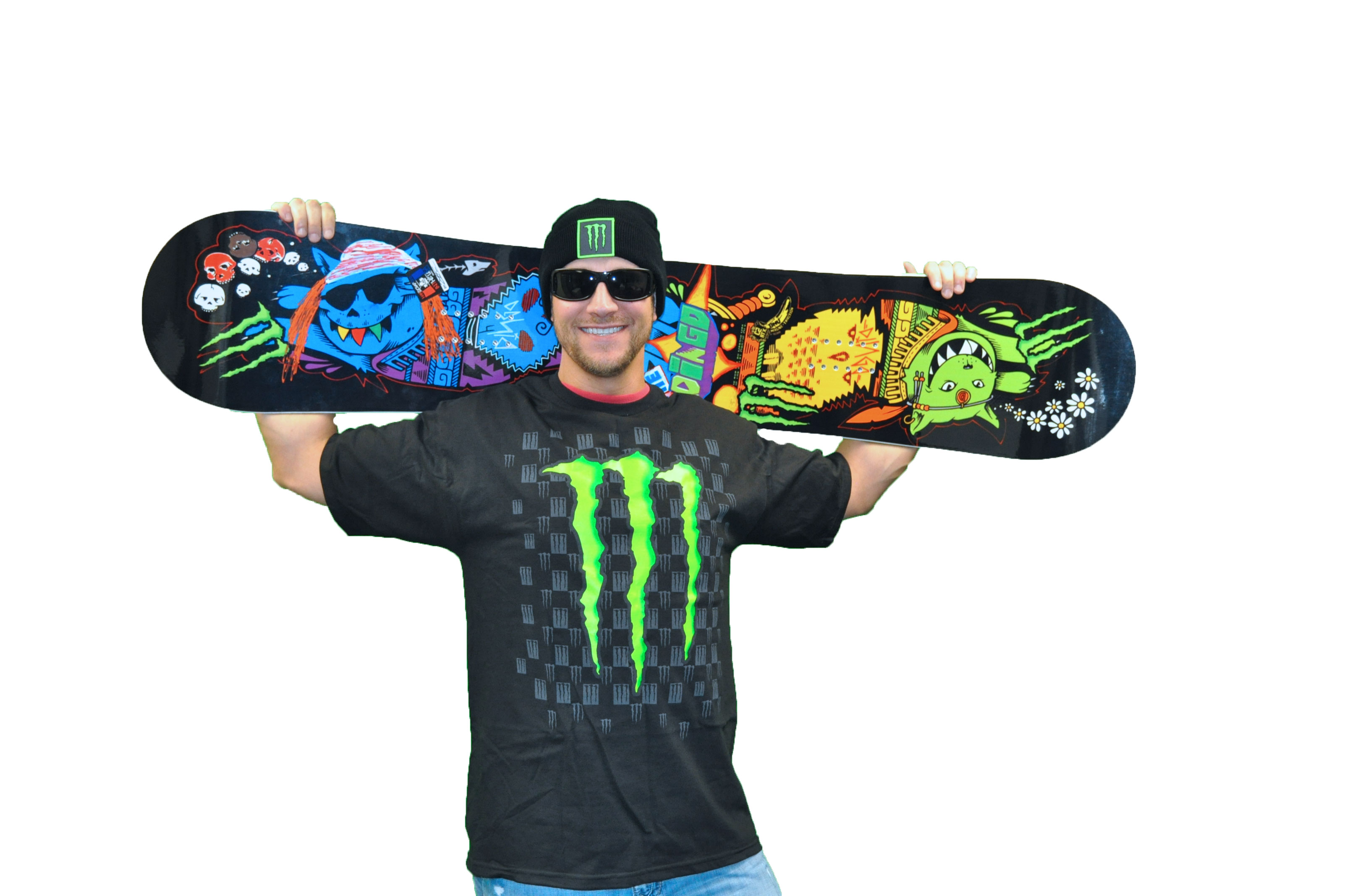 Monster Energy Snowboard
