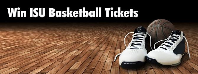 Win ISU Basketball Tickets