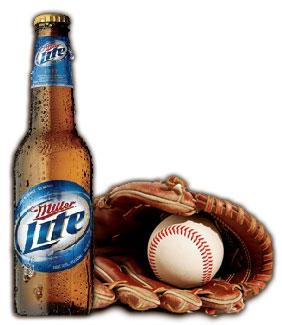 Miller Lite & Baseball