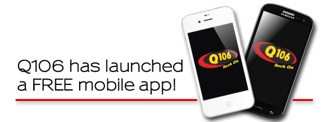 Q106 Has a new Mobile App