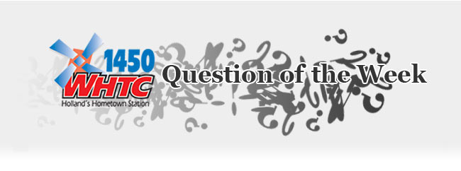 Question of the Week graphic
