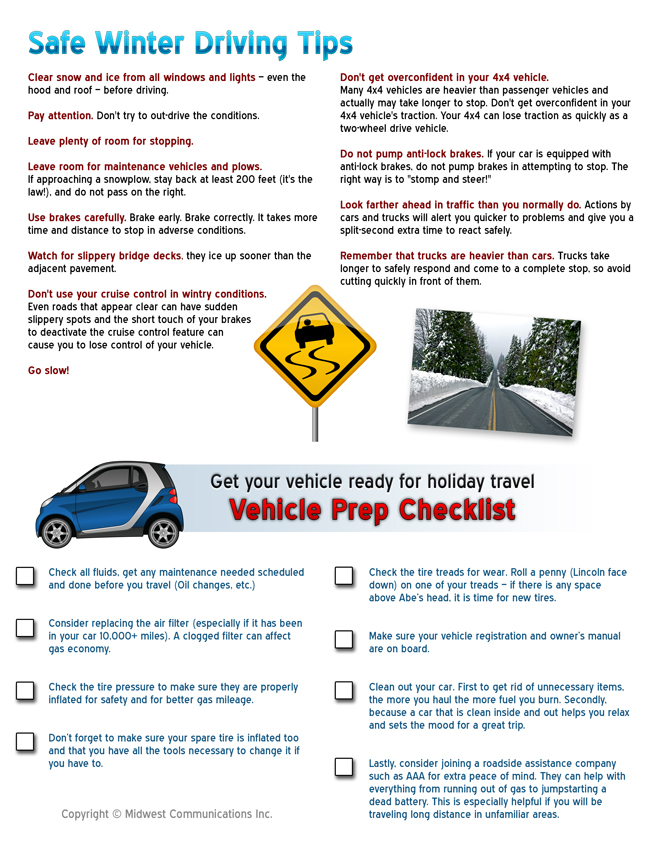 Just When You Thought Knew Everything About Winter Driving Some Eye Opening Tips To Consider From The Wisconsin DOT