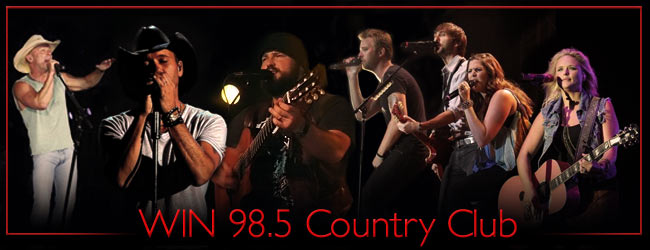 Win 98.5 Country Club image