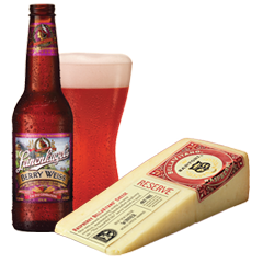 Leinies Berry Weiss Raspberry BellaVitano