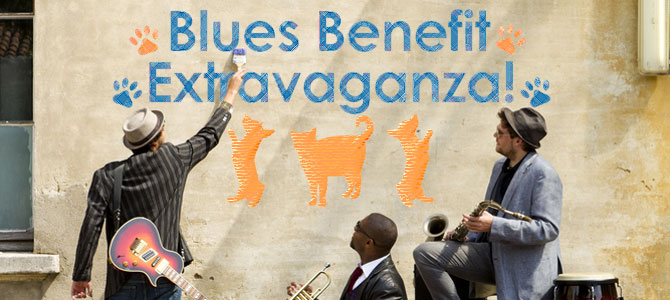 Blues Benefit Extravaganza Banner