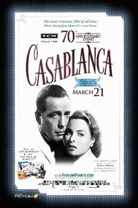 _TCM Presents Casablanca 70th Anniversary Event