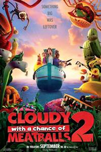 _Cloudy With a Chance of Meatballs 2 in 3D