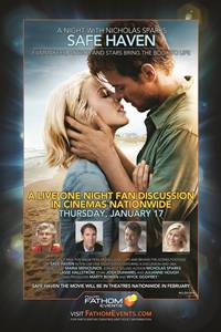 _Nicholas Sparks' Safe Haven: Filmmakers, Author and Stars Live