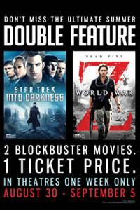 _Star Trek Into Darkness / World War Z