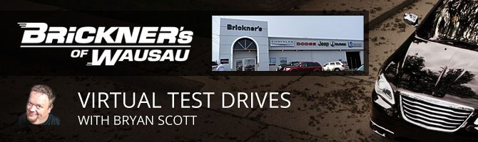 Brickner's Test Drives with Bryan Scott Blog Header