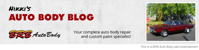 Nikki's Auto Body Blog Header