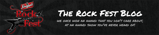 The Rock Fest Blog