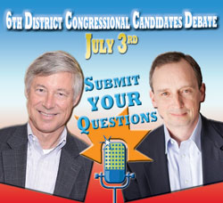 Fred Upton and Jack Hoogendyk Debate