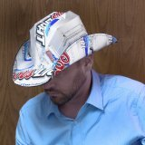 Coors Light Beer Box Cowboy Hat