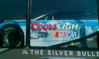 Coors Light Car